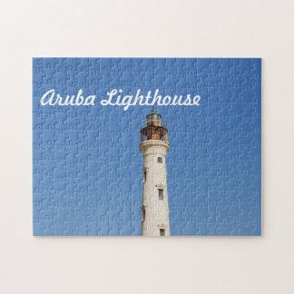 Aruba Lighthouse Jigsaw Puzzle