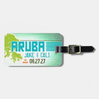 ARUBA Luggage Tag