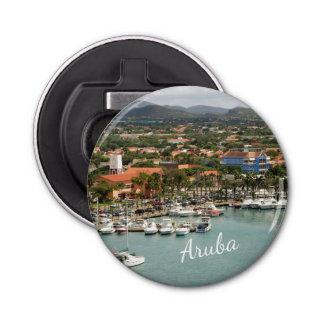 Aruba Marina Button Bottle Opener