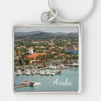 Aruba Marina Custom Keychain