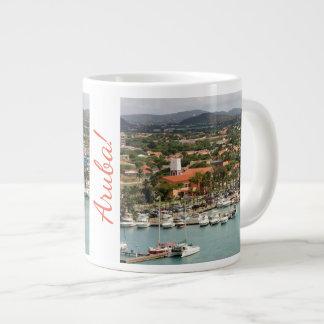 Aruba Marina Giant Coffee Mug