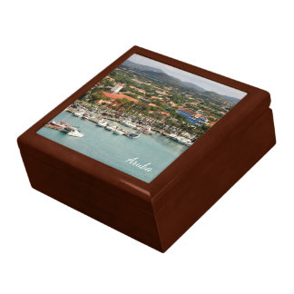Aruba Marina Keepsake Box