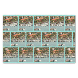 Aruba Marina Pattern Tissue Paper