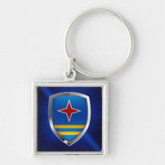 Aruba Mettalic Emblem Keychain