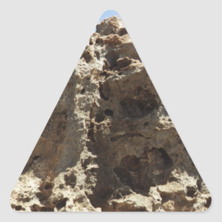 Aruba Rock Formation Triangle Sticker