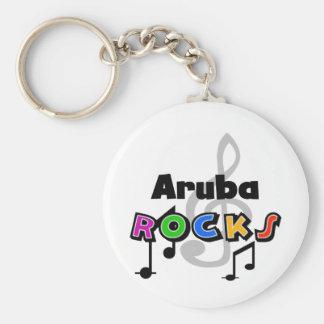 Aruba Rocks Keychain