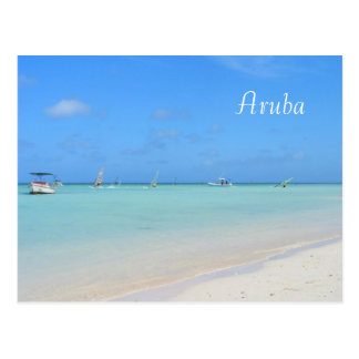 Aruba Sailboarding Postcard