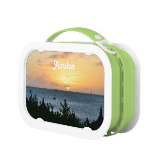 Aruba Setting Sun Lunch Boxes