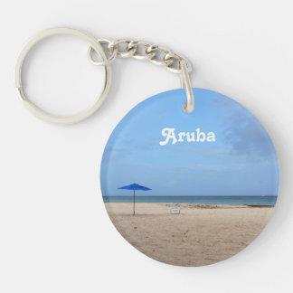 Aruba Solitude Keychain