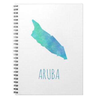Aruba Spiral Notebook