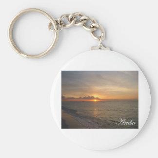 Aruba Sunset 2 Keychain