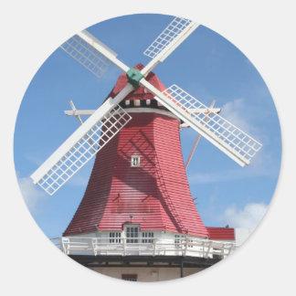 Aruba windmill sticker
