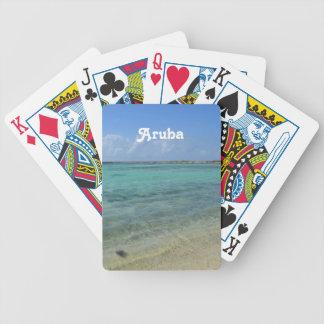 Aruban Beach Bicycle Playing Cards