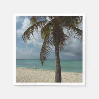 Aruban Beach I Beautiful Nature Scene Disposable Napkin