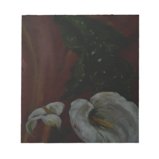 Arum Lilies 1 Notepad
