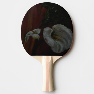 Arum Lilies 1 Table Tennis Paddle