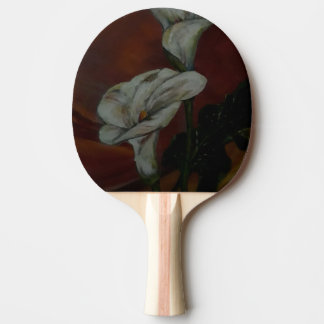 Arum Lilies 2 Table Tennis Paddle