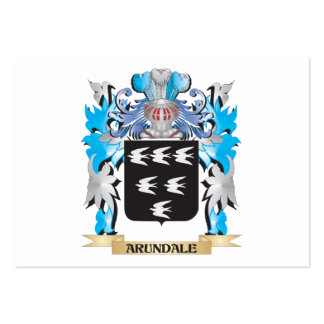Arundale Coat Of Arms Business Cards