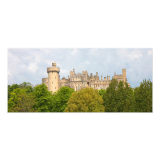 Arundel Castle custom name bookmark, business card Custom Rack Cards