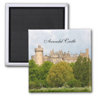Arundel Castle historic photo custom magnet