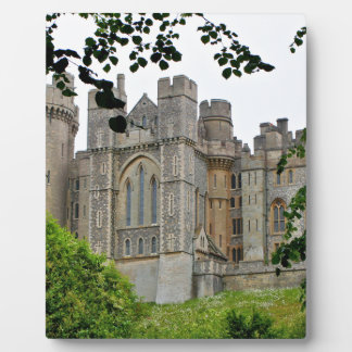 Arundel Castle, West Sussex, England Plaque