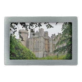 Arundel Castle, West Sussex, England Rectangular Belt Buckle