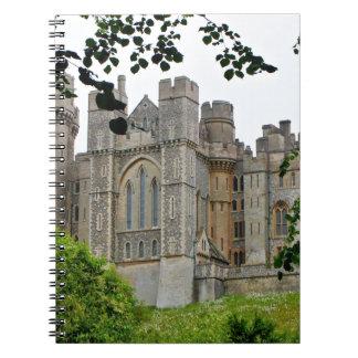 Arundel Castle, West Sussex, England Spiral Notebook