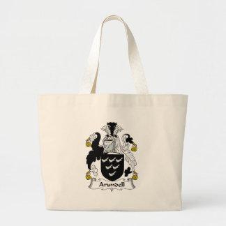 Arundell Family Crest Jumbo Tote Bag