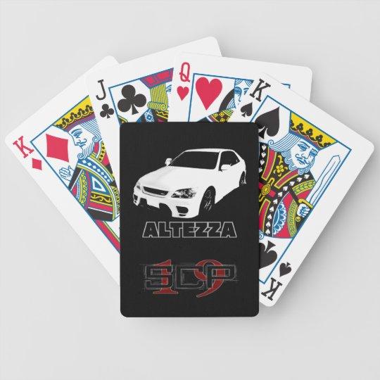 arutetsutsuatoranpu poker deck