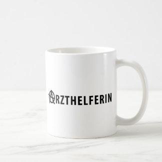 Arzthelferin icon mug