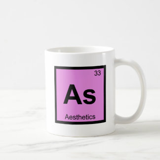 As - Aesthetics Philosophy Chemistry Symbol Coffee Mug