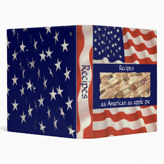 as American as apple pie Binder
