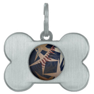 As American as..... Pet ID Tag