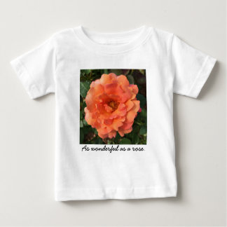 As beautiful as a rose. baby T-Shirt