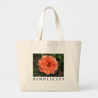 As beautiful as a rose. large tote bag
