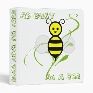 As Busy As A Bee Honeybee Baby Book Binders