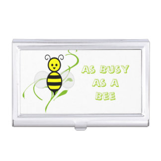 As Busy As A Bee Honeybee Case For Business Cards