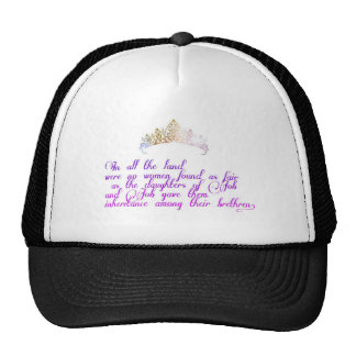 As fair as the daughters of Job Trucker Hat
