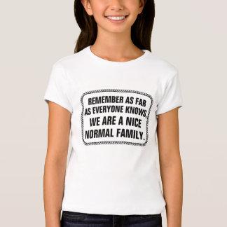 AS FAR AS EVERYONE KNOWS T-Shirt