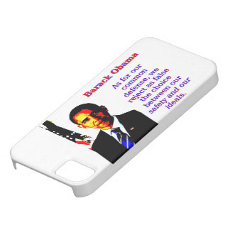 As For Our Common Defense - Barack Obama iPhone 5 Cover