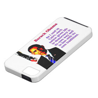 As I Said In Cairo - Barack Obama iPhone 5 Covers