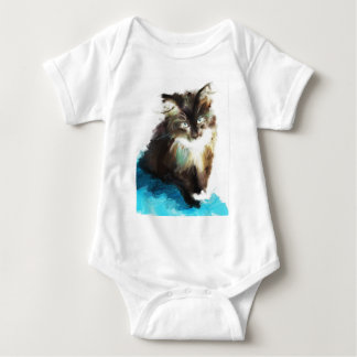 as I sat with her Baby Bodysuit