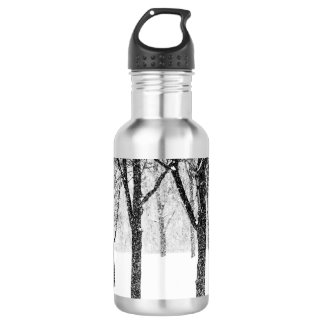 as I side with trees 532 Ml Water Bottle