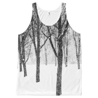 as I side with trees All-Over-Print Tank Top