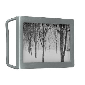 as I side with trees Belt Buckle