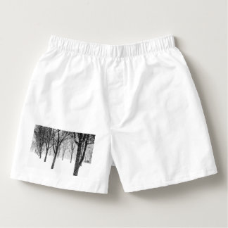 as I side with trees Boxers