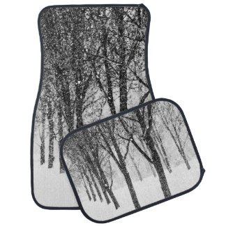 as I side with trees Car Mat