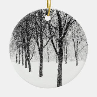 as I side with trees Ceramic Ornament