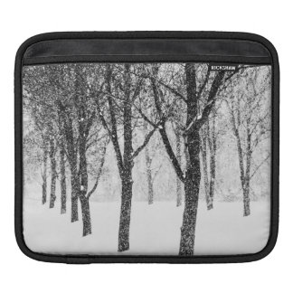 as I side with trees iPad Sleeve