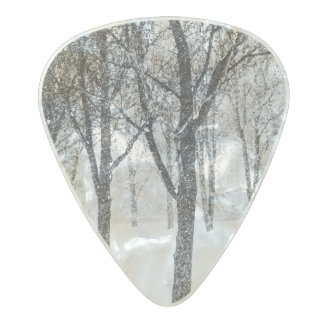 as I side with trees Pearl Celluloid Guitar Pick